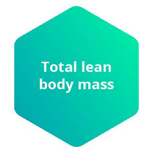 total lean body mass